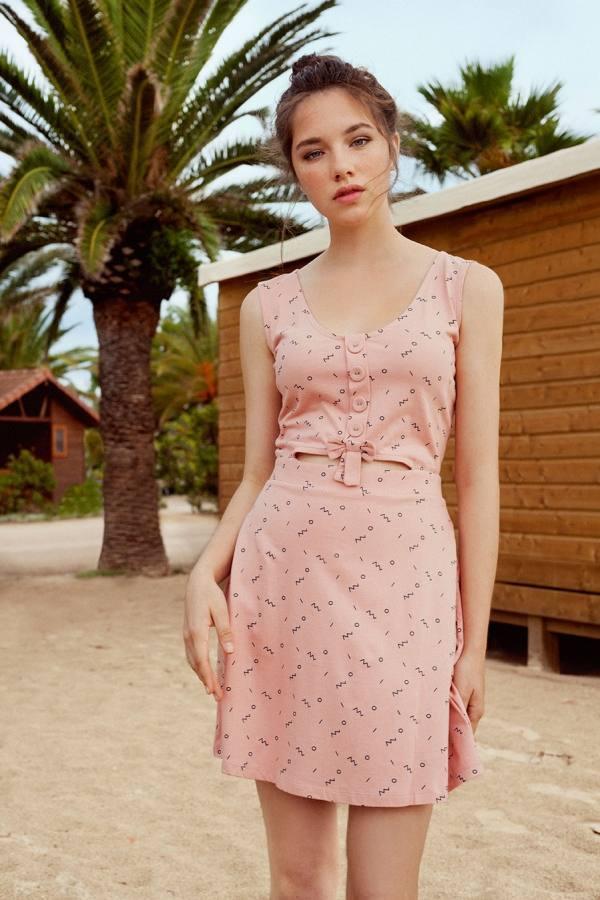 Tiralahilacha vestido reversible