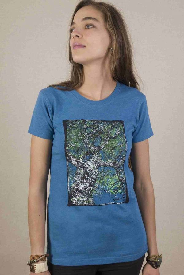 camiseta-arbol-mujer-azul-sirem-wild